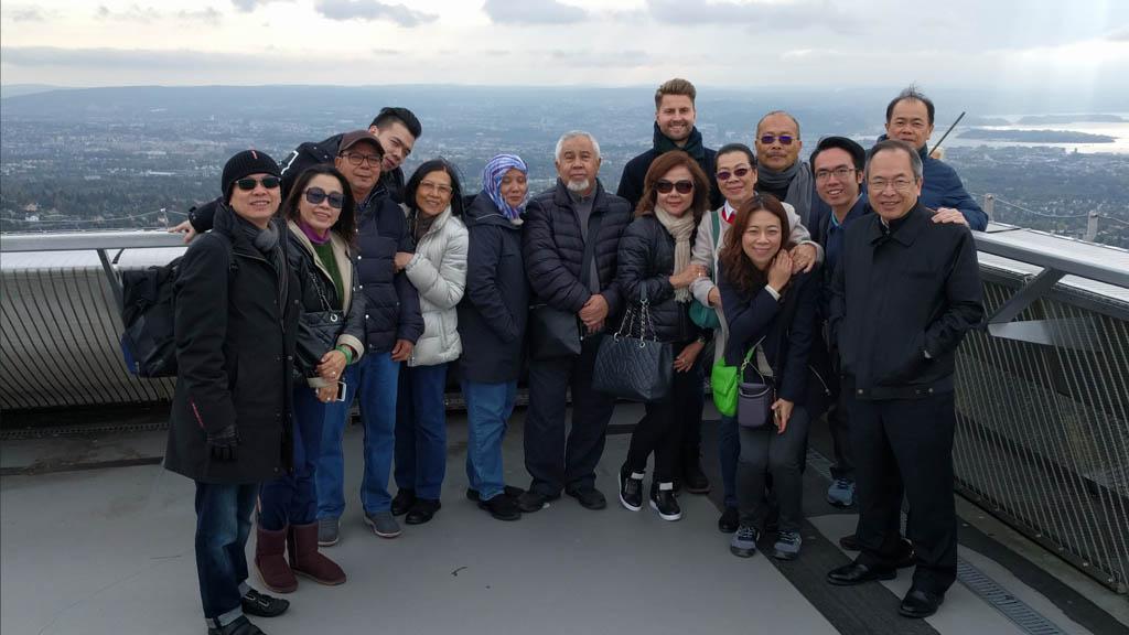 På toppen av Holmenkollen
