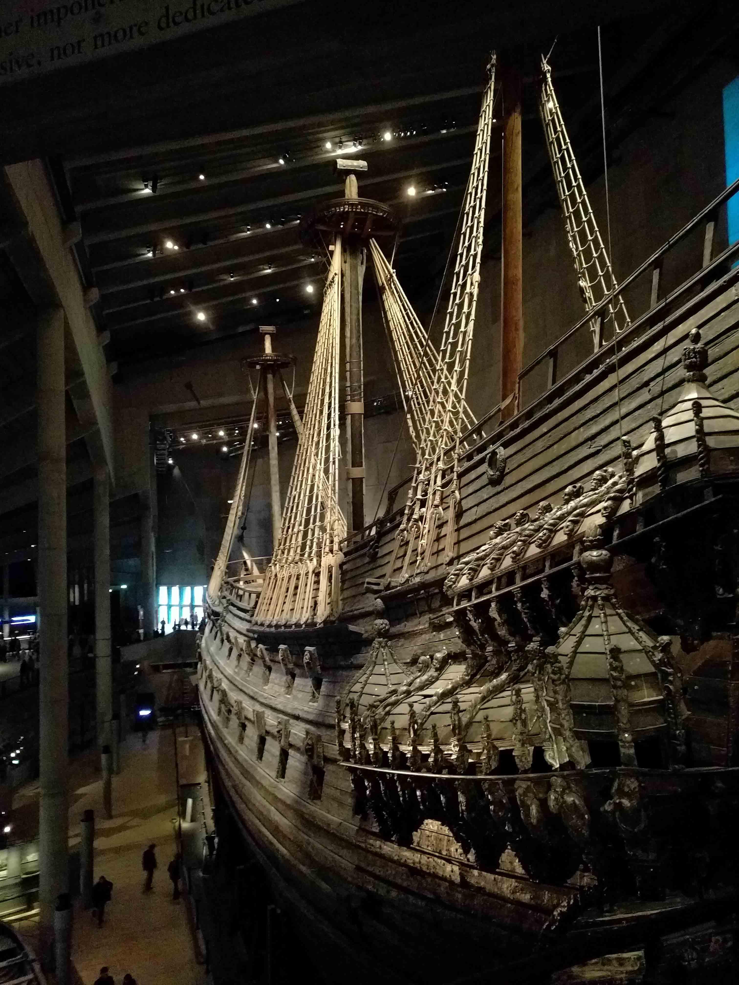 Vasaskip museet i Stockholm