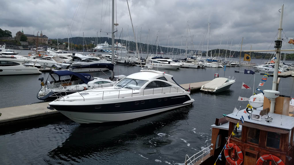 Yacht aker brygge