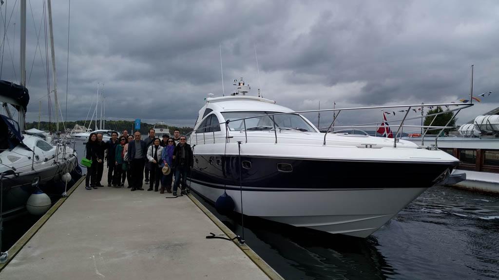Yacht tjuvholmen