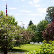Hagen på Villa Eckbo